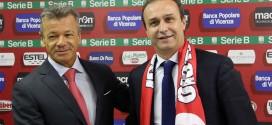 Presentato oggi il nuovo allenatore del Vicenza Pasquale Marino