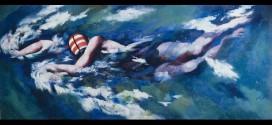 Il nuotatore - Umberto Primo Conti (1900-1988)