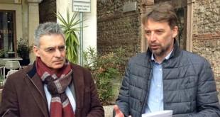 Da sinistra: Costantino Toniolo e Stefano Fracasso