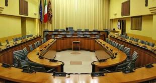 L'aula del Consiglio regionale del Veneto