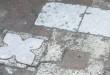 Il pavimento, ritrovato oggi, della chiesa di Santa Maria degli Angeli, del quindicesimo secolo