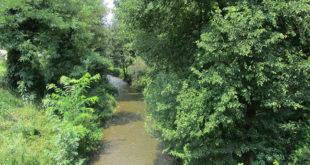 Il torrente Poscola, a Trissino