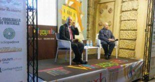 Il direttore del Giornale di Vicenza, Ario Gervasutti, e Paolo Mieli