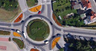 La nuova rotatoria di Trissino metterà in sicurezza un tratto di strada pericoloso (Foto d'archivio)