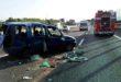 Furgone si ribalta sull'A4. Muore un uomo di 41 anni