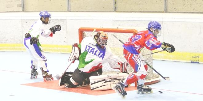 Hockey inline, l'Italia U18 in corsa per la medaglia d'oro