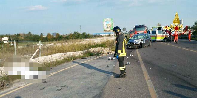 Incidente sulla Gasparona. Muore un motociclista