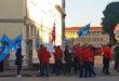 Vicenza, protestano i dipendenti della Tim