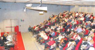 Uno dei seminari sulla salute organizzati dalla 50&Più di Vicenza nella sede di Confcommercio