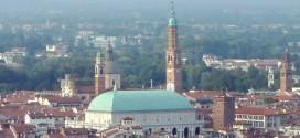 La Basilica Palladiana di Vicenza vista dall'alto
