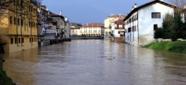 Nella serata di Ieri, a Vicenza, si è temuto per l'improvvisa salita del livello del Bacchiglione
