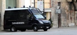 Mezzo dei Carabinieri
