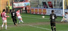 Castiglia segna il quarto goal del Vicenza