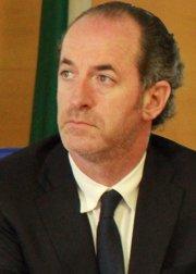Il presidente della Regione Luca Zaia