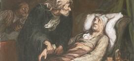Un dipinto di Honoré Daumier, raffigurante una scena dell'opera di Molière