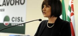 Michela Vaccari, Responsabile Inas Cisl Vicenza.