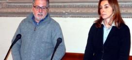 Gli assessori del Comune di Vicenza Umberto Nicolai e Michela Cavalieri