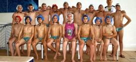 La squadra under 15 della Pallanuoto Thiene