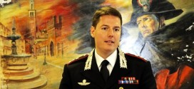 Il capitano Davide Rossetti, nuovo comandante della Compagnia Carabinieri di Thiene