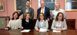 Rappresentanti degli inquiline e dei proprietari immobiliari di Schio, con il sindaco Dalla Via