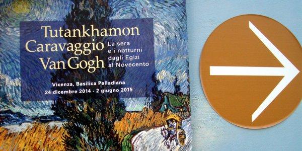 """""""Tutankhamon, Caravaggio, Van Gogh. La sera e i notturni dagli Egizi al Novecento"""", prossima grande mostra in Basilica Palladiana"""