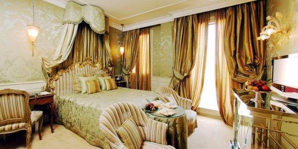 Camera di albergo di lusso