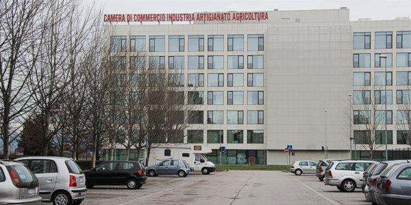L'edificio dove ha sede la Camera di Commercio di Vicenza