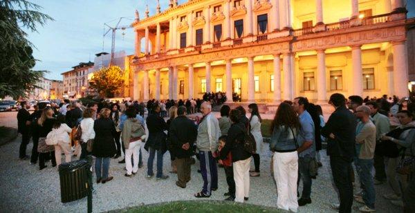 Palazzo Chiericati - Lunghe code, sabato per accedere ai musei Vicentini.