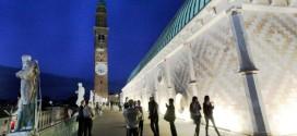 La terrazza superiore della Basilica Palladiana di Vicenza