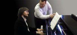 Alberto Spadarotto ed il pianista Massimo Zulpo
