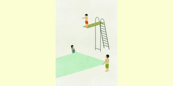 """""""Jump"""", illustrazione di Shout"""