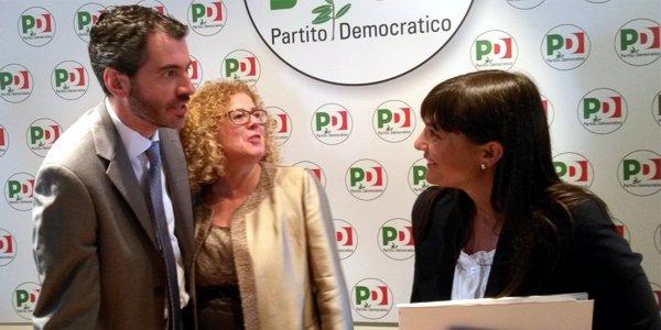 Da sinistra: Riccardo Poletto, Rosanna Filippin, Debora Serracchiani