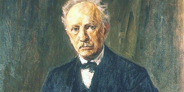 Richard Strauss in un dipinto di Max Liebermann (1918)