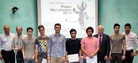 """Gli studenti dell'Istituto tecnico """"A. Rossi"""" di Vicenza, vincitori del Premio Meccatronica 2014"""