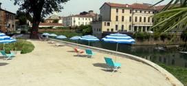 La... spiaggia di Vicenza
