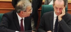 Da sinistra, il sindaco di Vicenza, Achille Variati e il presidente della Regione del Veneto, Luca Zaia