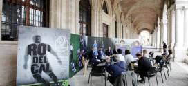 """La presentazione in Basilica della mostra """"Eroi del Calcio – Storie di Calciatori"""""""