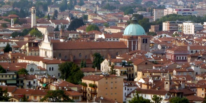 Vicenza - veduta sulla cattedrale
