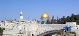 Uno scorcio di Gerusalemme, città Santa per le tre religioni monoteiste e città simbolo del conflitto in Palestina