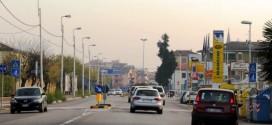 Nel centro storico di Vicenza non si vedono cavi aerei, ma se ci si allontana un po'...