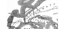 La mappa dell'Europa secondo Strabone (60 a.C. – 23 d.C. )