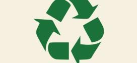 Il simbolo internazionale per rifiuti riciclabili