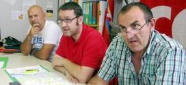 Da sinistra a destra: Massimo Esposito, Morgan Prebianca e Marco Lucchini