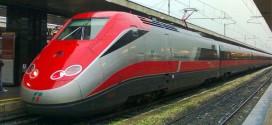 Un treno ad alta velocità ETR 500 Frecciarossa - Foto: Wodhks123 (creativecommons.org/licenses/by-sa/3.0/)