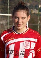 L'attaccante Valeria Guiotto - Foto: www.vicenzacalciofemminile.com