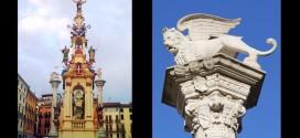 La Rua e il Leone alato in Piazza del Signori