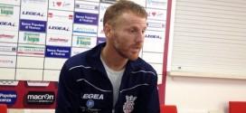 il tecnico del Real Vicenza Michele Marcolini