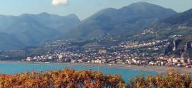 Un bella veduta di Praia a Mare, la cittadina della provincia di Cosenza dove aveva sede la Marlane