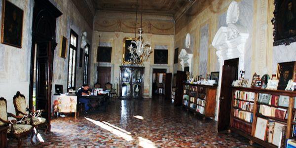 La sala dove si trovava il quadro rubato