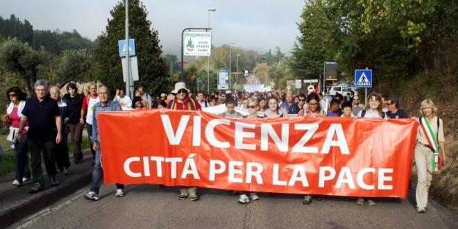 """Vicenza città per la pace"" alla marcia Perugia Assisi"